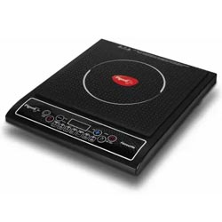 """Pigeon LED Display Push Button Crystal Induction Cooktop"""