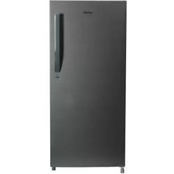 """Haier Direct Cool Single Door 5 Star Refrigerator 195L (Brushline Silver, 2019)"""