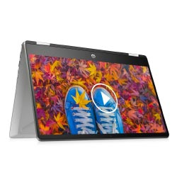 """Silver HP Pavilion x360 2-in-1 14-dh1178tu i3 """