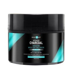 """HealthKart Activated Charcoal Wash Off Face Mask, 200 g"""