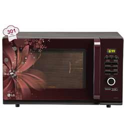 """LG 32 L - Black 2500 Watts Convection Microwave Oven"""