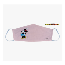 """DISNEY Minnie Mouse Print Face Cover For Girls"""