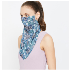 """GINGER Printed Scarf Mask For Women"""