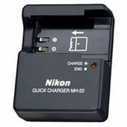 """ Nikon MH-23 Highly Durable Quick Battery Charger"""