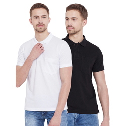 """Set Of 2 Multi Colored T-Shirt"""
