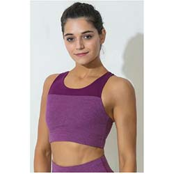 """Zelocity Decode Collection Non Padded Sports Bra"""