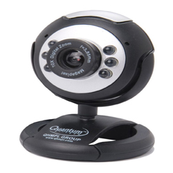 """Quantum Webcam Extra Clear Night Vision and In-Built Microphone"""